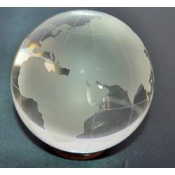Map Monde cristal Feng-shui
