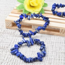 Bracelet Lapis-lazuli baroque