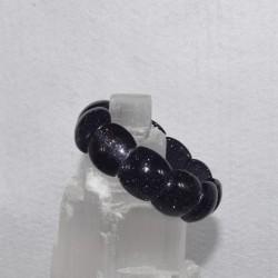 Bracelet Pierre de nuit grand cabochon
