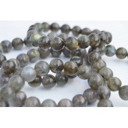 Labradorite bracelet perles rondes 12 mm