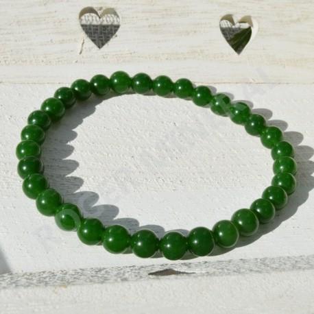 Bracelet Jade du Canada 6mm