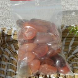 Cornaline petites pierres roulées par 250gr