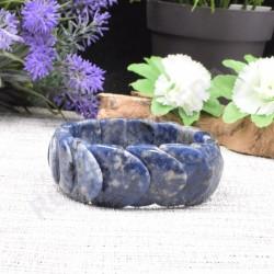 Bracelet Sodalite écailles