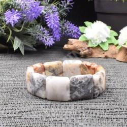 Bracelet Jaspe Orbiculaire square 20mm
