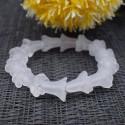 Bracelet cristal de roche tulipe