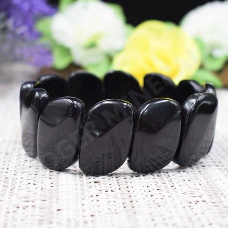 Onyx noir bracelet coma