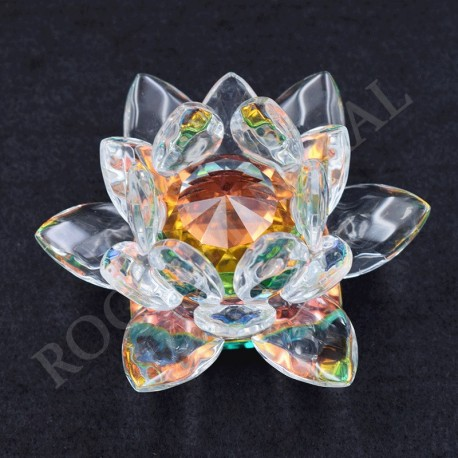Lotus Feng-shui arc-en-ciel 3cm