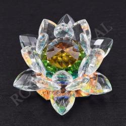 Lotus Feng-shui arc-en-ciel 6cm