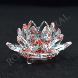 Lotus Feng-shui 3cm rouge
