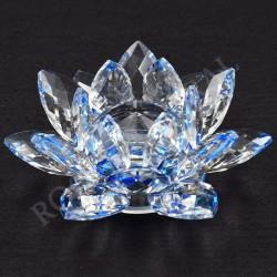 Lotus Feng-shui 6cm bleue