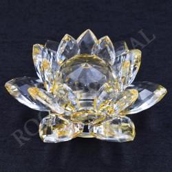 Lotus Feng-shui 5cm jaune
