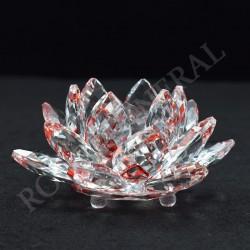 Lotus Feng-shui 4cm rouge