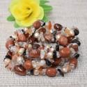 Bracelet Pierre de soleil synthèse et autres pierres