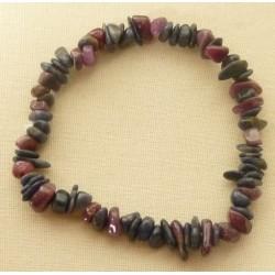Bracelet Saphir et Rubis perle baroque