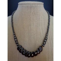 Hématite collier HEMA09