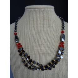 Hématite collier HEMA20