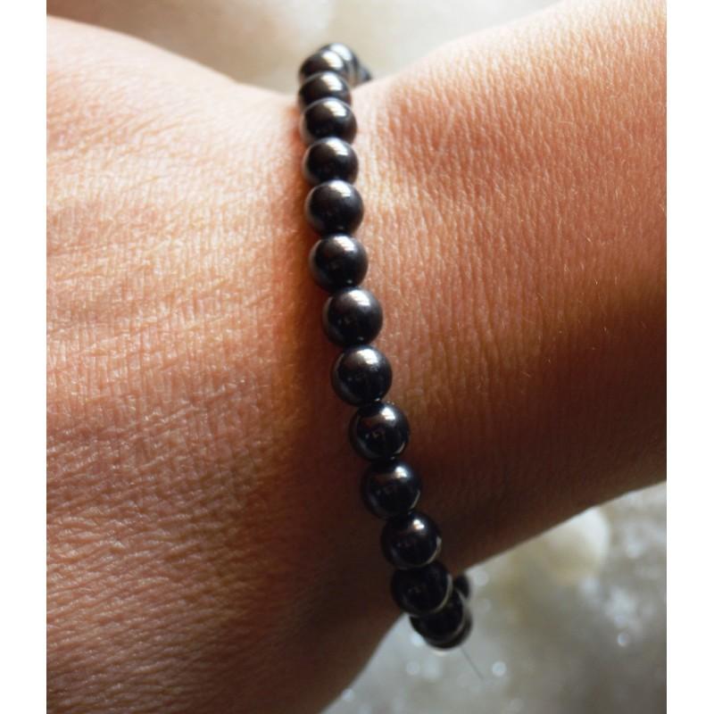 Rondes Russie Shungite Perles De Bracelet 6YyvIbgf7