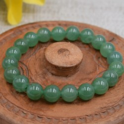 Bracelet Aventurine Perles rondes 10mm