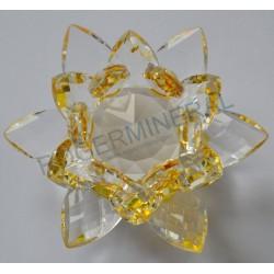 Lotus Feng-shui 3cm jaune