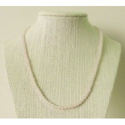 Collier Quartz rose Perles rondes