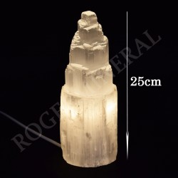 Lampe en Sélénite 25cm