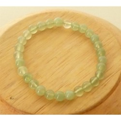 Bracelet Jade perles rondes 4mm