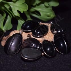 Obsidienne oeil céleste scarabée