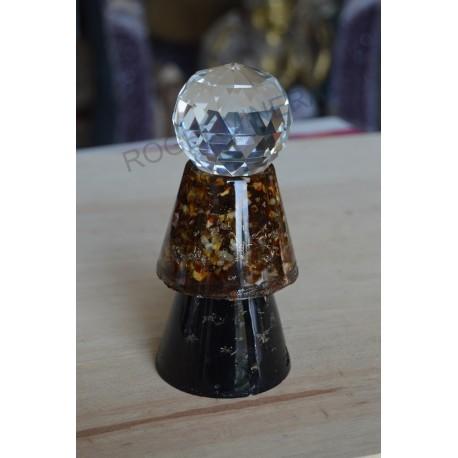 Condensateur Shungite Ambre + sphère