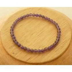 Bracelet Améthyste Perles rondes