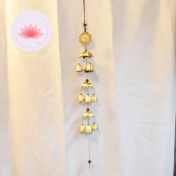 Carillon 9 clochettes Yin-yang