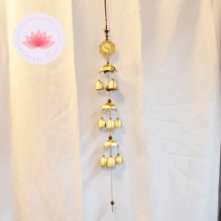 Carillon 9 clochettes Ying-yang