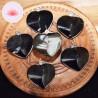 Obsidienne dorée pendentif coeur A