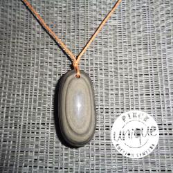 Obsidienne oeil céleste pendentif 1