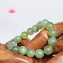 Bracelet Jade perles rondes 10mm
