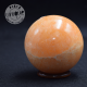 Calcite orange sphère 4