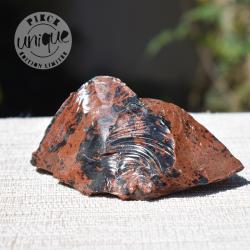 Obsidienne Acajou brute 5