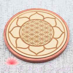 Grid-Wood Fleur de Vie