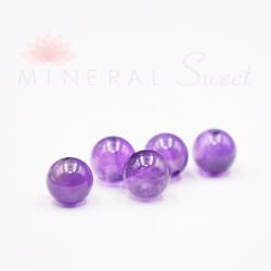 Améthyste naturelle perles 8mm prix dégressifs
