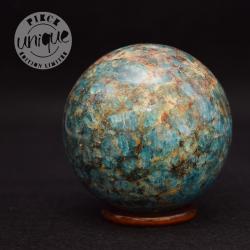 Apatite verte sphère 8
