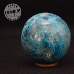 Apatite bleue sphère 4