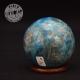 Apatite bleue sphère 2