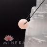 Pendentif Quartz Rose sphère
