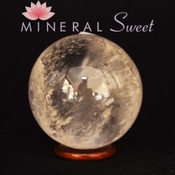Cristal de roche forme Sphere 21