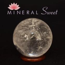 Cristal de roche forme Sphere 20