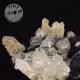 Hematite Fleur + Cristal de Roche de collection