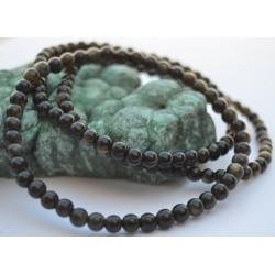 Obsidienne dorée bracelet  04mm