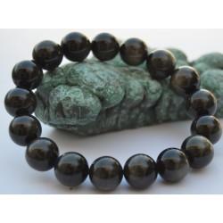Obsidienne dorée bracelet IGOBSIDIAN012