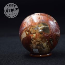 Bois fossile sphère 3