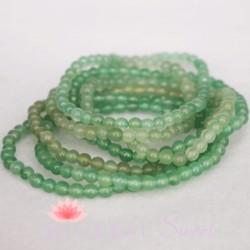 Bracelet Aventurine Perles rondes 4mm