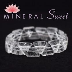 Bracelet Cristal de roche triangle